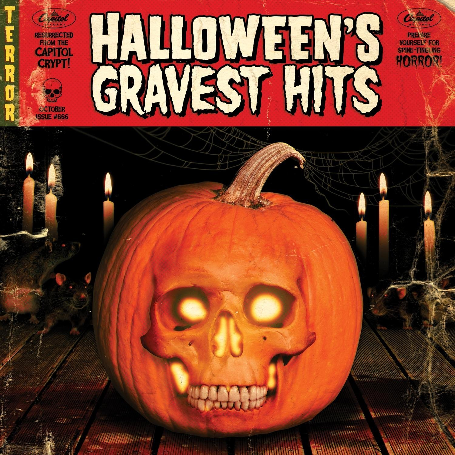get online information about the artist - Online Halloween Music